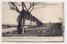 camouflage français route de ham a chauny