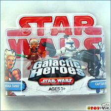 Star Wars Galactic Heroes Ahsoka Tano and Captain Rex 2 action figure pack