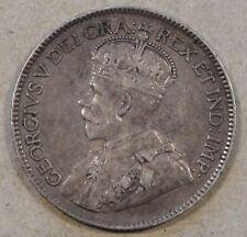 Canada 1918 Quarter Nice Original Mid-Better Grade Coin