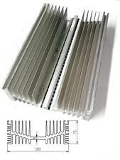 Dissipatore termico in alluminio per elettronica  300x200x75 peso kg 3,1