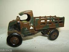 """Vintage John Hill & Co (JOHILCO). Mack jeu militaire camion """"RARE"""""""