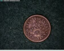 1863 Oliver Boutwell Troy N.Y. Store Card (36-159 )
