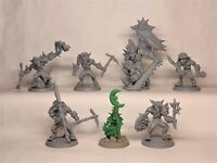 Miniatures Figures Goblins Hard plastic 1/32 54mm 7pcs