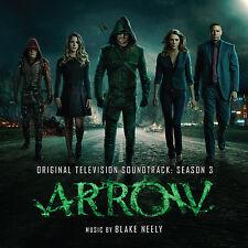 Arrow Season 3-Original Soundtrack Recording by Blake Neely (2 CD SET)