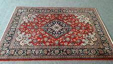 Echter handgeknüpfter Perser Teppich Ghom Persian Rug