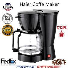 Coffee Maker 10 Cups Machine Drip Filter Glass Carafe Automatic Coffee Maker USA