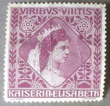 Erinnofilia - Austria Österreich Kaiserin Elisabeth - Principessa Sissi - viola