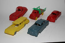 1950's Group of Plastic Toy Cars, Lot #1