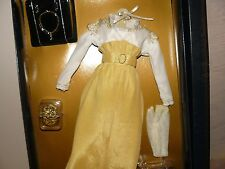 Franklin Mint Titanic White And Yellow Strolling Ensemble For Vinyl Rose Doll