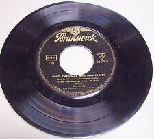 "Bing Crosby ""White Christmas"" 45 rpm Germany-Rare 4 track..........FREE SHIPPING"