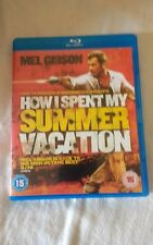 HOW I SPENT MY SUMMER VACATION   BLU-RAY  MEL GIBSON