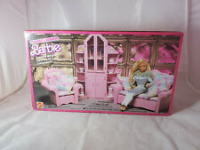 Mattel Barbie Sweet Roses 3-Piece Wall Unit Furniture Sealed Box NEW 4772