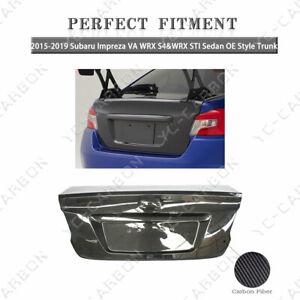 Carbon Fiber OE Style Trunk For 2015-2019 Subaru Impreza VA WRX S4&WRX STI Sedan