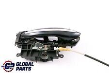 *BMW 5 6 Series F10 F11 Outside Door Handle Front Left N/S Carbonschwarz Black