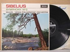 SXL 6125 WBG ED1 SIBELIUS- SYMPHONY NO.2 - MAAZEL / VPO LP EX++ Vinyl