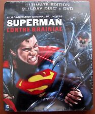 Blu-Ray Superman contre Brainiac - Combo Blu-Ray + DVD - Ultimate Edition -