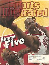 Sports Illustrated June 9 1997 Michael Jordan Gimme Five complete magazine