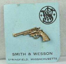1970'S VINTAGE SMITH & WESSON GUN TIE TACK OLD STORE STOCK