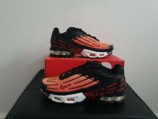 Nike Air Max Plus III 3 GS Trainers Orange Red UK 6 EUR 39 CD6871 003