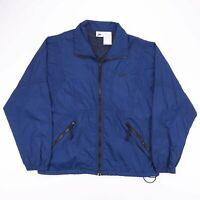Vintage NIKE Blue Lightweight Zip Up Logo Outdoor Track Jacket Mens Size Medium