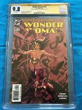 Wonder Woman #165 - DC - CGC SS 9.8 - Signed by Phil Jimenez, Adam Hughes