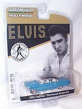 Greenlight 1:64 Scale 1955 Cadillac Fleetwood Series 60 Elvis Diecast Car ltd ed