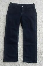 """Women's LEE Reserve Straight Leg Jeans """"Instantly Slims You"""" Size 12P Dark Wash"""