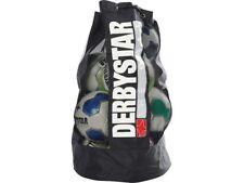 Derbystar Ball-Tasche für 10 Bälle schwarz Ballsack 75x43cm Fußball-Netz