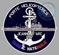 AUTOCOLLANT ARMEE MARINE NATIONALE PORTE-HELICOPTERES JEANNE D'ARC R97 PE202
