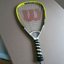 Nice Wilson nCharge Racquetball Racquet Power Beam Energy Zone Racket