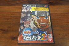 Naruto Ultimate Hero 2    ----- pour PS2  // JAPAN