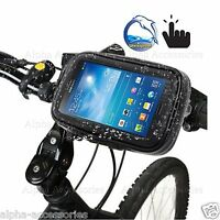 Bike WaterProof Bicycle Handle Bar Holder Rain Case Cover For iPhone All Models