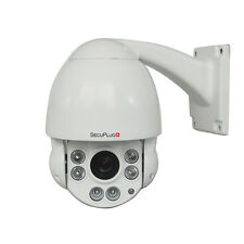 Outdoor 2.0MP HD Middle Speed Dome IR IP PTZ Camera with 10X Optical Zoom Night