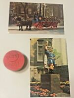Pabst Blue Ribbon Beer, Post Cards, Keg Plug, Beer Barrel Wooden Plug Cap