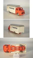 Lego 1/87 Mercedes Benz Transport Box Car solofzg. Red/White 60 erjh. #132a