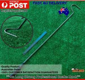Professional 1m 100cm Long Snake Catching Hook Quality Long Reptile Snake Hook