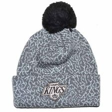 LOS ANGELES KINGS MITCHELL & NESS NHL TEAM POM POM BEANIE