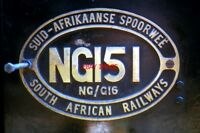 PHOTO  SOUTH AFRICAN RAILWAYS - NG/G16 CLASS 2 FOOT GAUGE 2-6-2 + 2-6-2 GARRATT