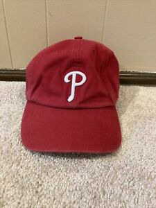 Philadelphia Phillies '47 Brand Franchise MLB Relaxed L Fitted Cap Hat Large Hat