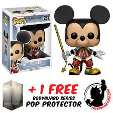 FUNKO POP DISNEY KINGDOM OF HEARTS MICKEY VINYL FIGURE + FREE POP PROTECTOR