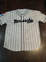Kansas City Monarchs Pepsi SGA Jersey Adult Xl Free Shipping MLB EUC KC Royals