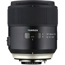 Tamron 45mm F1.8 SP Di VC USD Lens F013N - Nikon Fit Cc1081