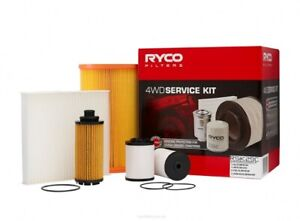Ryco 4x4 Filter Service Kit RSK29C fits Holden Colorado 2.5 TD 2WD (RG), 2.8 ...