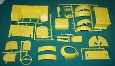"""Lindberg Hot Canary """"T"""" 1/8 Fenders Body Yellow Parts Etc."""