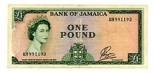 Jamaica … P-51 … 1 Dollar … L.1960(1961) … *F/VF*