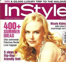 InStyle June 2005 Nicole Kidman cover