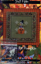 Just Nan:Frost on the Pumpkin Chart and  Embellishment Pack  (FL)