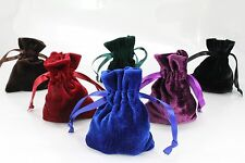 "10pcs Small 3""x4"" Velvet Bags, Jewelry Wedding Party Favors,Drawstring Pouch"