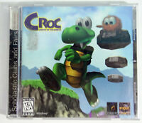 Croc Legend of the Gobbos Vintage PC CD-ROM Game Fox Interactive 1997 Jewel Case