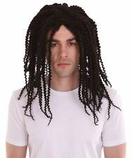 Long Dreadlock Wig | Dark Brown Historical Character Cosplay Hallow Adult HM-186